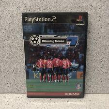 Sony PlayStation2 Winning Eleven 7 International Soccer Game Korean Version PS2