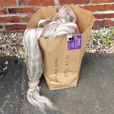 Shetland 300g bag of natural humbug combed wool top