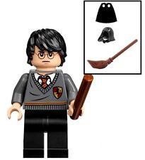 LEGO HARRY POTTER MINIFIGURE GRYFFINDOR + EXTRAS WAND BROOMSTICK CAPE HOOD 71247