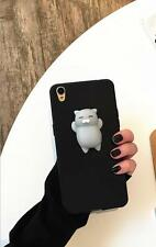 2017 Squishy 3D Soft Silicone Cat Bear TPU Phone Case Cute Cover iPhone/Samsung