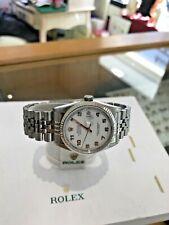 Rolex Datejust Model 16234 Quick Set  Automatic 1997