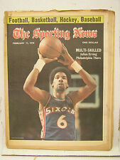 Feb 11, 1978 SPORTING NEWS Magazine- Julius Erving on cover/Don Sutton