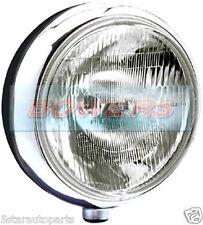 "SIM STAINLESS STEEL CHROME 9"" CIBIE SUPER OSCAR H3 REPLICA SPOT LIGHT SPOT LAMP"