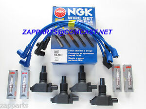 IGNITION COIL,NGK SPARK PLUG SET,NGK WIRE SET MAZDA RX-8 BWD CANADA FREE SHIPING