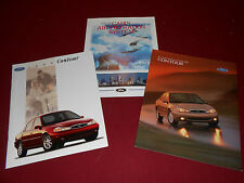 1998 FORD CONTOUR, 2 Different SALES CATALOGS + AIR FILTRATION BROCHURE, 3 for 1