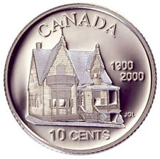 2000 Silver 10-cents