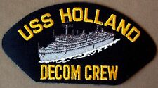 US Navy Cap Patch USS Holland Decommissioning Crew