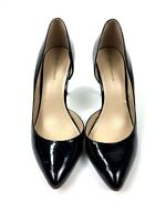 BCBGeneration Womens Haleigh High Heels Size 7 Black Patent Leather Pumps