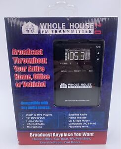 Whole House Fm Transmitter 2.0 New In Box!