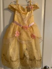 Belle Beauty And The Beast Costume Size 5-6 Disney Store