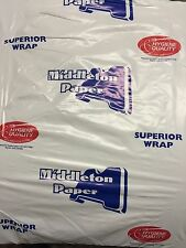 """10kg WHITE PACKING PAPER Newspaper Offcuts Fish Chip Shop Wrapping 20""""x17"""" Large"""