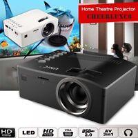 Full HD 1080P Home Theater LJа Mini Multimedia Projector Cinema USB TV HDMI AUJа