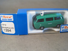 Roco H0  neu  OVP BT12  VW Bahnpolizei  1394