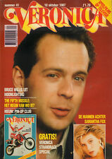 VERONICA 1987 nr. 41 - BRUCE WILLIS / PIN-UP CLUB / VERONICA STRANDRACE SPECIAL