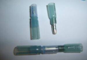 10 Heat Shrink Male/Female Bullet Connector Car Audio Marine Terminals 16-14 AWG