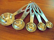 Stainless Steel Measuring Spoon Heavy Weight Set 5PC Supreme Quality~Fast Ship