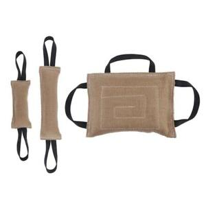 Dog Bite Tug Toy with Strong Handles for Training, Sporting and Interaction