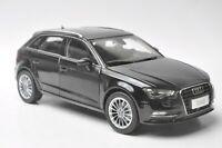 Audi A3 sportback car model in scale 1:18 Black