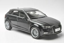 Audi A3 sportback car model in scale 1:18 Black