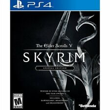 Elder Scrolls V: Skyrim Special Edition PS4 Pro Console New Sealed Ships Fast !!