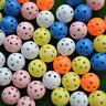 Useful 20pcs Hollow Plastic Practice Golf Ball Balls Small Ball CA