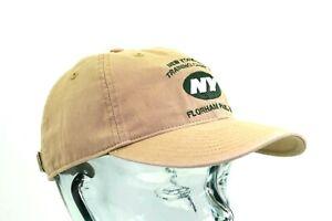 NFL New York Jets Khaki Slouch Adjustable Cap Hat By Reebok