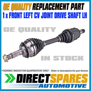 LEFT CV Joint Drive Shaft fits Toyota Yaris NCP90 NCP91 NCP93 1.3L 1.5L 05-11