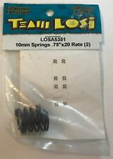"""TEAM LOSI 10mm Springs .75""""x20 Rate (2) LOSA5351 NEW RC Part"""