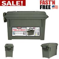 Ammo Storage Field Box Ammunition Holder Brass Organizer Military Heavy Duty Can