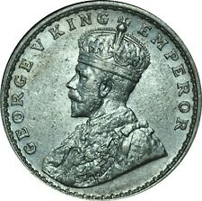 1918 India Rupee XF Bright AU Condition  #2
