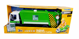 1/16 Tomy Big Works Iveco Rubbish Collection Lorry Truck lights and sounds