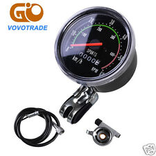 NEW Ultra Analog Speedometer odometer Classic Style for exercycle & Bike Bicycle