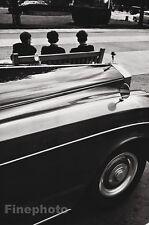 1958 Vintage 11x14 ROLLS ROYCE AUTOMOBILE Car Art Boys Angleterre JEANLOUP SIEFF