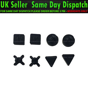 🔥 Brand New Sony PlayStation 4 PS4 Pro Replacement Rubber Feet Set