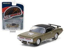 1970 PLYMOUTH HEMI CUDA CITRON GOLD 1/64 DIECAST MODEL CAR BY GREENLIGHT 13190 B
