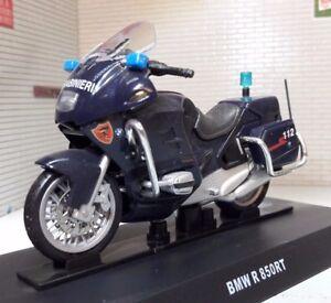 G 1:24 Scale BMW R 850 R850 RT 2003 Police Motorbike Diecast Model Carabinieri