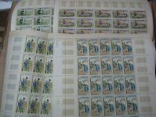 Laos 1963 Freedom From Hunger Stamps Full Sheet (B)   ຄວາມອຸດົມສົມຄູອາຈານ