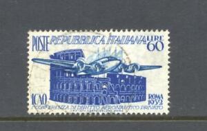 Italy 1952 SG 823 Aeronautics Conference Air Used