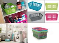 Handy Storage Basket Plastic Crate Fruit,Vegetables,Pharmacy,Organizer Boxes