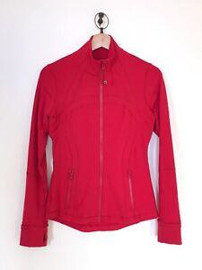 Lululemon Define Jacket Luon Size 6 Dark Red