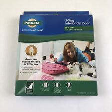 Interior 2-Way Locking Cat Door Home Entry Access Opening up too 15 lbs