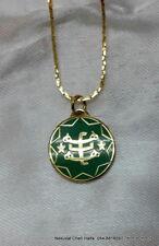 Baha'i Ring star symbol color necklace pendant from Haifa,Bahai jewelry