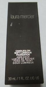 Laura Mercier LACANLF02-Q Candleglow Soft Foundation - Chestnut For Women - 1 Oz