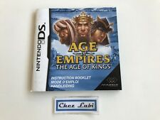 Notice (Sans Jeu) - Age Of Empires The Age Of Kings - Nintendo DS - PAL FAH
