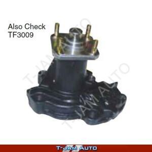 Water Pump WP3122 suits Daihatsu Feroza F300, F310 10/88-5/98 4 Cyl 1.6L HDE