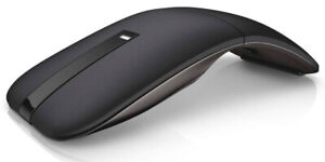 Dell Bluetooth Mouse WM615, Infrared, Wireless, 1000 dpi, Touch Scroll, WM615-BK