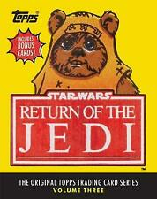 Star Wars: Return of the Jedi: The Original Topps Trading Card Series, Volume Three by Lucasfilm Ltd, The Topps Company, Gary Gerani (Hardcover, 2016)