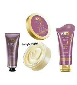 Avon Planet Spa Radiant Gold Pamper Set - Free P&P