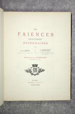 FIEFFE ET BOUVEAULT. LES FAÏENCES PATRIOTIQUES NIVERNAISES. 1885-1886.
