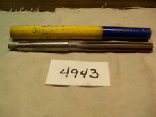 (#4943) New Machinist American Made 13/32 inch MT Shank Reamer